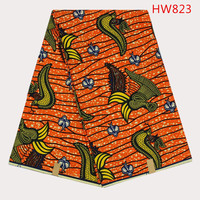 China Factory Wholesale African Wax Prints Fabric/Real Wax/Super Wax