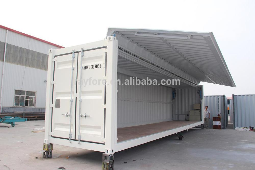 40 Sid Open Flying Container Qingdao Buy Side