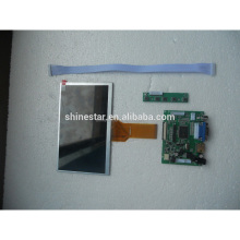 Monitor de DIY 7 polegada LCD AT070TN93 para Raspberry Pi + (suporte HDMI + VGA + 2AV) bordo Motorista
