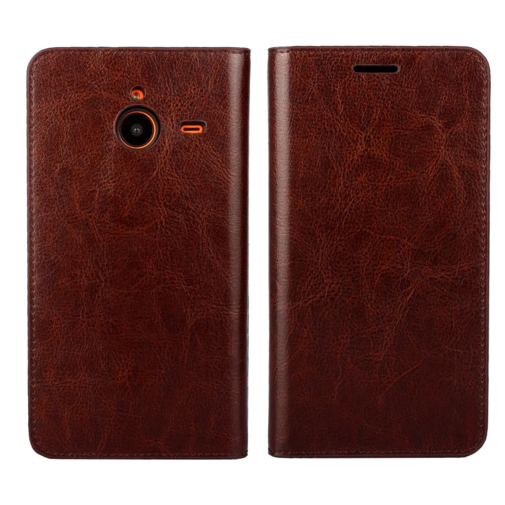 In Quality Flip Case Cover For Microsoft Lumia 640 950 Xl New Arrival High Quality Flip Leather Protective Phone Cover Bag Mobile Book Superior