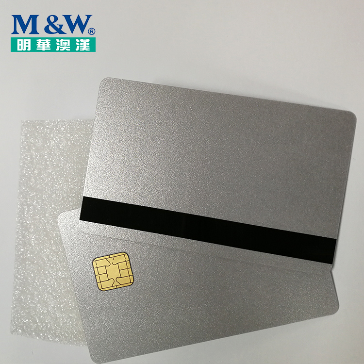 High Quality ISO7816 Jcop V2.4.1 R3 J2A040 40K JAVA Smart Card with Track 2 Hico Magnetic Stripe