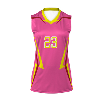 High Quality Custom Sublimation Volleyball Uniform Designs Volleyball Jersey