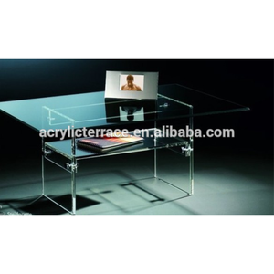 Superieur 507123 Retractable Clear Acrylic Office Desk