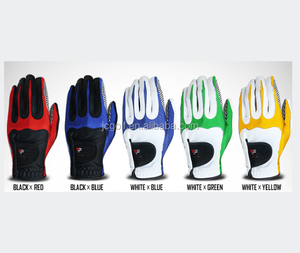 Assorted colored cheap synthetic leather Golf Glove