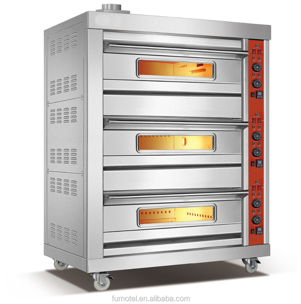 China Factory Prices Gas Baking Machine Bread Oven