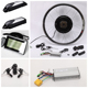 26 inch electric bike front wheel conversion kit,completely kits battery included.