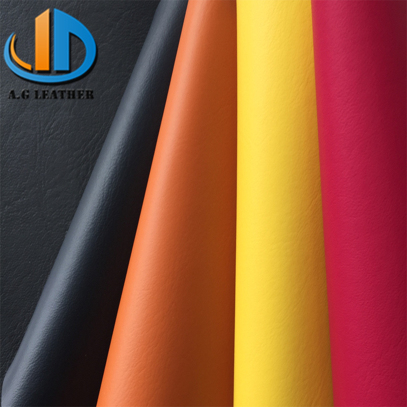 Pure macarons colorful nonwoven backing microfiber suede synthetic semi pu <strong>leather</strong>