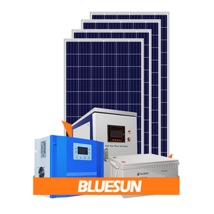 Bluesun series home solar panel kit off grid 2000w solar power system with 200Ah battery backup