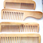 Cheap personalized hair comb,hotel wooden comb factory