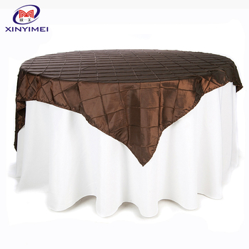 wholesale round polyester table cloth for wedding