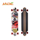 "China Wholesale Shipping 40"" Sector through pumping slid custom wooden longboard"