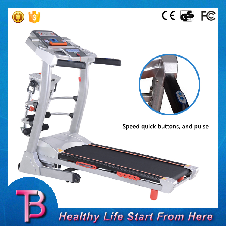 Home use body building portable exercise treadmill fitness equipment