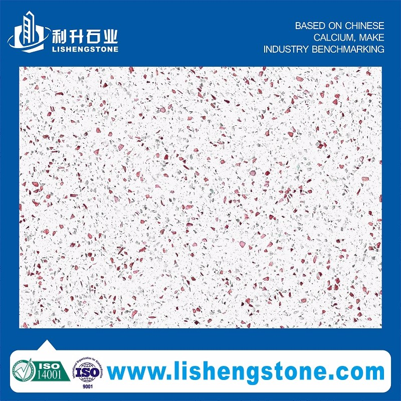 Diamond Luster Pearl sample available wholesale thin quartz slabs with great price