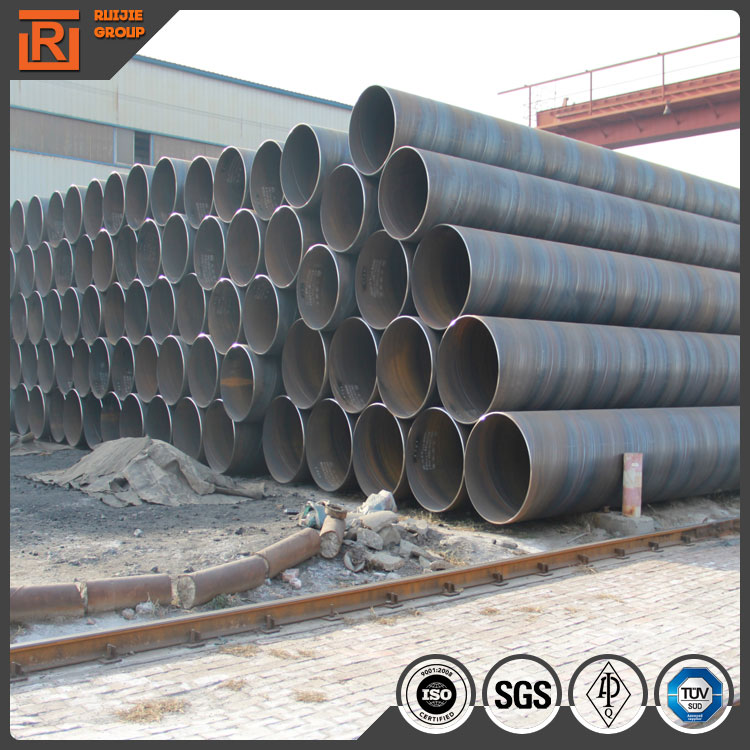 astm a53 black spiral steel pipe drill stem spiral tube from china supplier spiral pipe