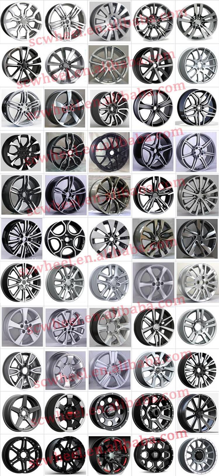 13-inch Alloy Wheel For Car Replica New Design 4x4 Racin Made In ...