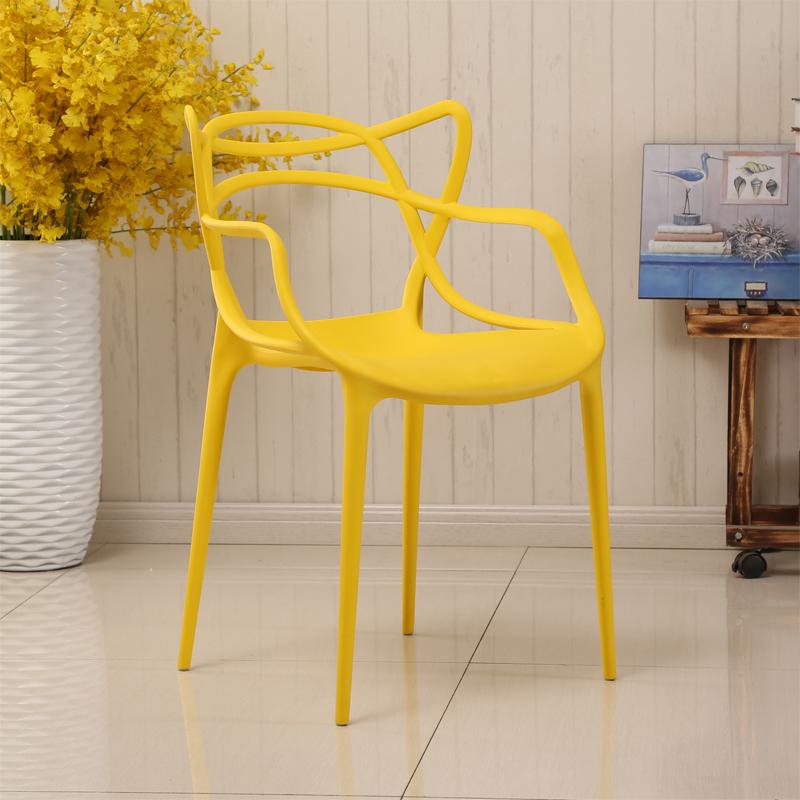 Hohe qualität günstige förderung stacking außen kunststoff stuhl