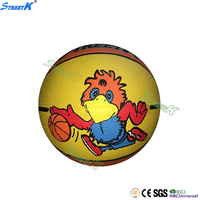 STREETK rubber play balls manufacture custom rubber basketball