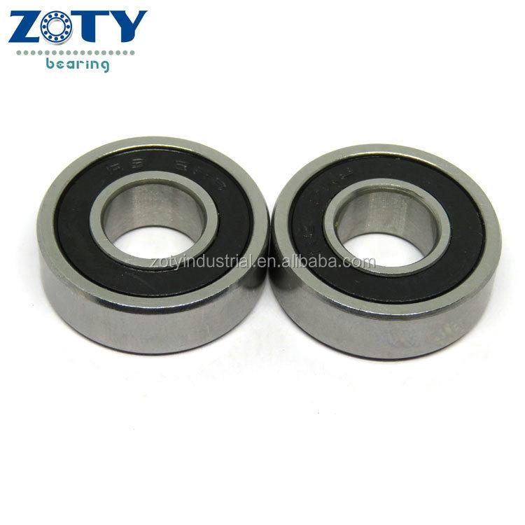 "Black Rubber Sealed Ball Bearing Bearings R6RS 4pcs R6-2RS 3//8/"" x 7//8/"" x 9//32/"""