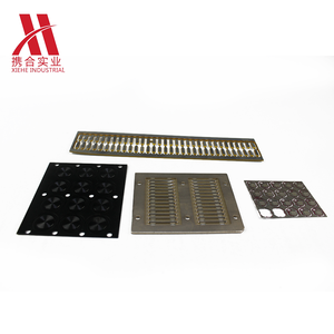China manufacture mechanical parts fabrication services custom lathe metal panel cnc electric aluminum faceplate
