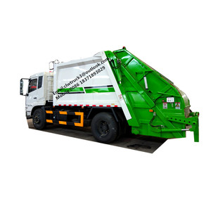 Dongfeng trash compactor trucks/garbage truck with compactor