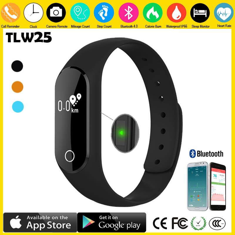 Hot sell 2017 new product SDK&API smart bracelet Fitness Tracker Band