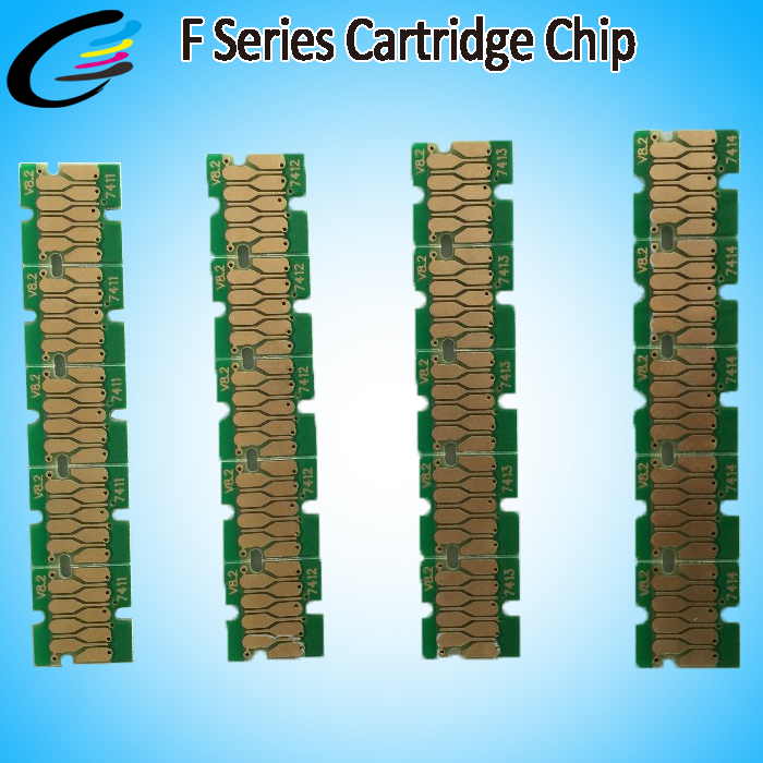 for Epson F9200 F7200 F6200 SureColor Printer Ink Chip