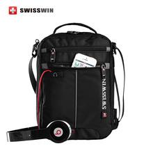 Swissgear Messenger Shoulder Bag Black Bag for font b Ipad b font handy crossbody bag for