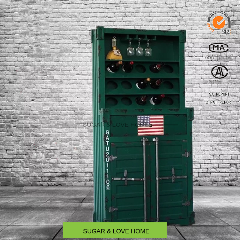 shipping container furniture metal file cabinet