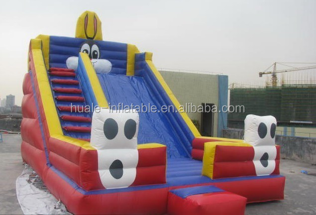 Six trees cheap inflatable water slide for sale
