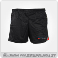 custom nylon rugby shorts, tight fit rugby shorts, tennis shorts