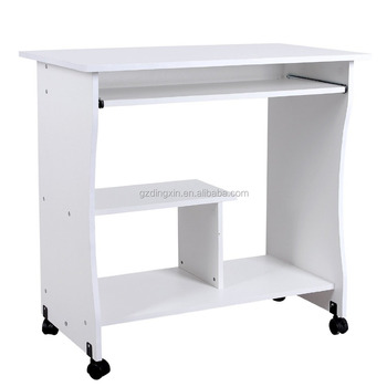 Melamine Small Size Computer Desk Kd Packing Ista Drop Test Buy