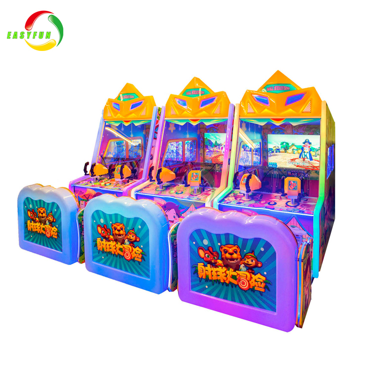Factory price HD LCD screen ball shooting arcade game machine