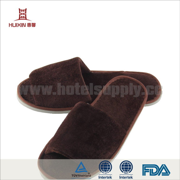 JET-SL-039 Unisex open toe general disposable hotel slippers