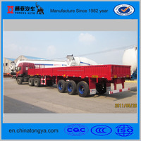 factory direct selling tongyada side wall semi trailer made in China