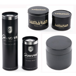ce2acc22f2 Nice-can China Factory Nice-can Manufacturer Supply Wholesale Customized  Black Color Round Coffee Tea Metal Tin Can - Buy Metal Tin Can