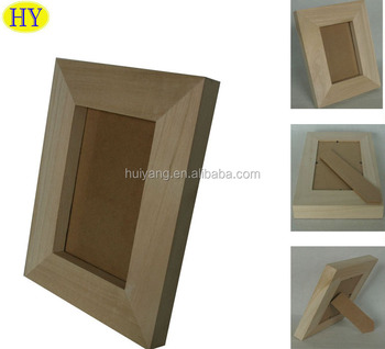 Cheap Factory Unfinished Wooden Picture Frames Wholesale Buy