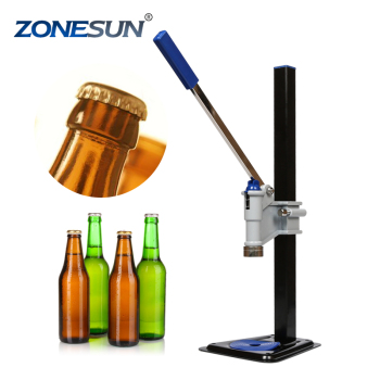 ZONESUN best price manual plastic bottle capper/beer bottle capper