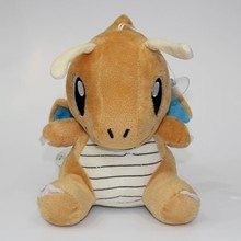 Hot sale new style fancy super soft short plush fast dragon pokemon toy