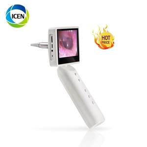 IN-S1 Riester Digital Vet Flexible LED Pocket Otoscope Veterinary Video Ear Camera Otoscope