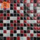 black white red glass crystal mosaic tile