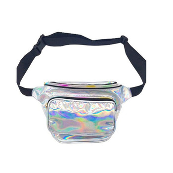 Oempromo water proof reflective hologram rave fanny pack