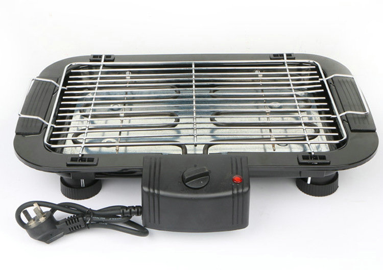 1500 W Rumah Tangga stainless steel bbq grill