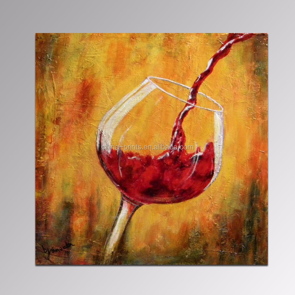 WINE BOTTLE AND GLASS KITCHEN DESIGN CANVAS WALL ART PRINT PICTURE READY TO HANG