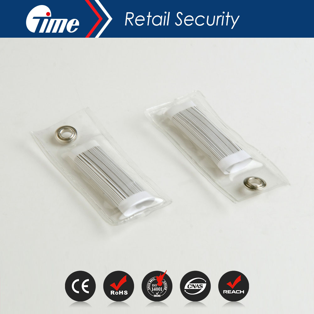 ONTIME RL4606 Punch Tag rf/am anti-theft security soft label for retail shop