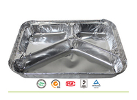 Accept Custom Order and Tray Type disposable fast food container,Aluminum Foil Container