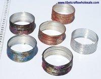 Colorful Metal Bracelets Handmade Jewelry Sale; Best Online Costume Jewelry Stores