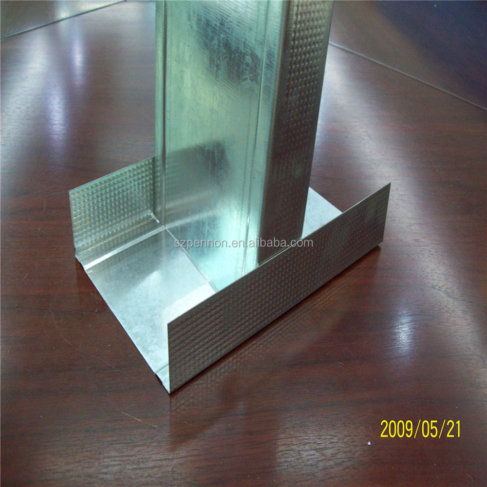 Drywall Partition System C Channel And D Channel Stud And