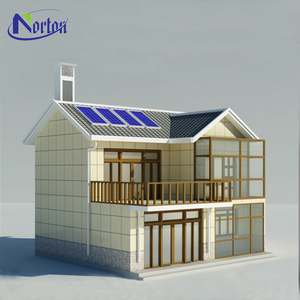 Export steel easy prefab house easy to assemble environment friendly NTBA-K009