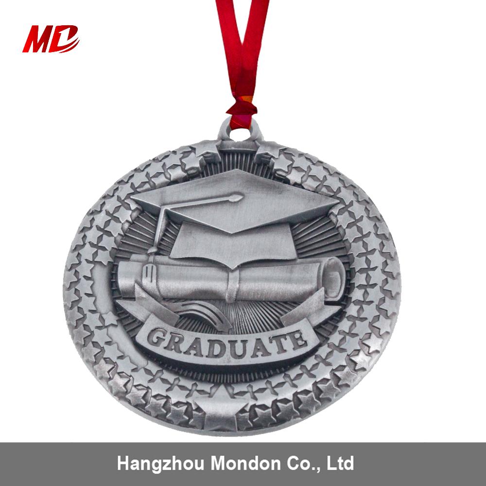 High Quality Custom Zinc Alloy Graduation Sports Award Medal as Gift and Souvenir