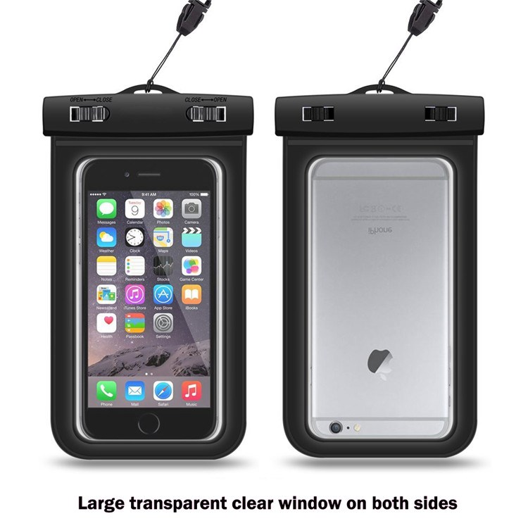 2016 new product under 6 inch crystal PVC waterproof case for most smart cellphone